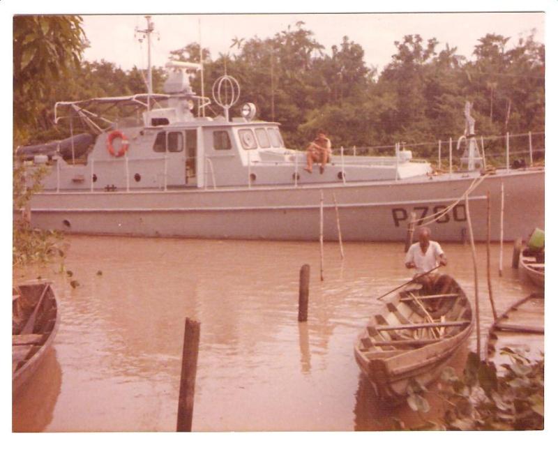 [ Divers Gendarmerie Maritime ] 1977 - Création de la brigade de gendarmerie maritime à Cayenne. Ouanar13