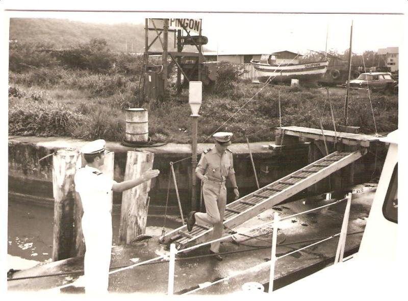 [ Divers Gendarmerie Maritime ] 1977 - Création de la brigade de gendarmerie maritime à Cayenne. P_781_12