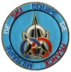 insigne épée 3 anneaux bleu blanc rouge Aefms10