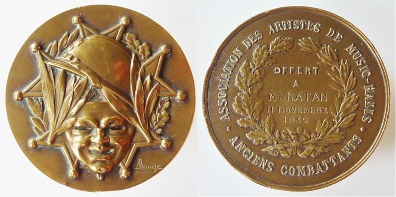 Lot insignes et médaille à authentifier/ identifier (all, fr) Amusic10