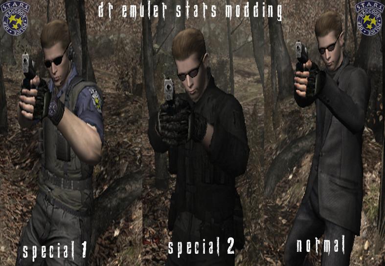 Wesker en el modo historia pack 1 [S.T.A.R.S, RE4, Code Verionica] Wesker12
