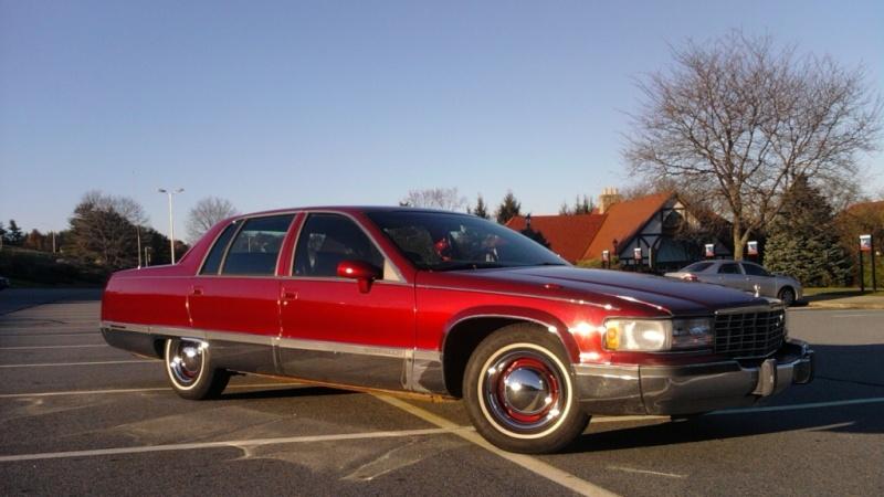 1994 Cadillac Fleetwood Brougham DCM Baretop!! Caddy10