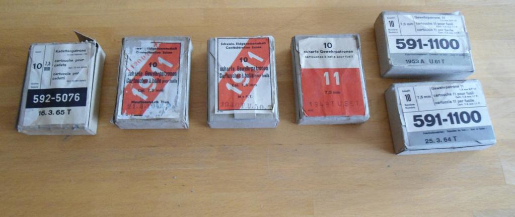 Boite de munitions pour GP11 Cartou16