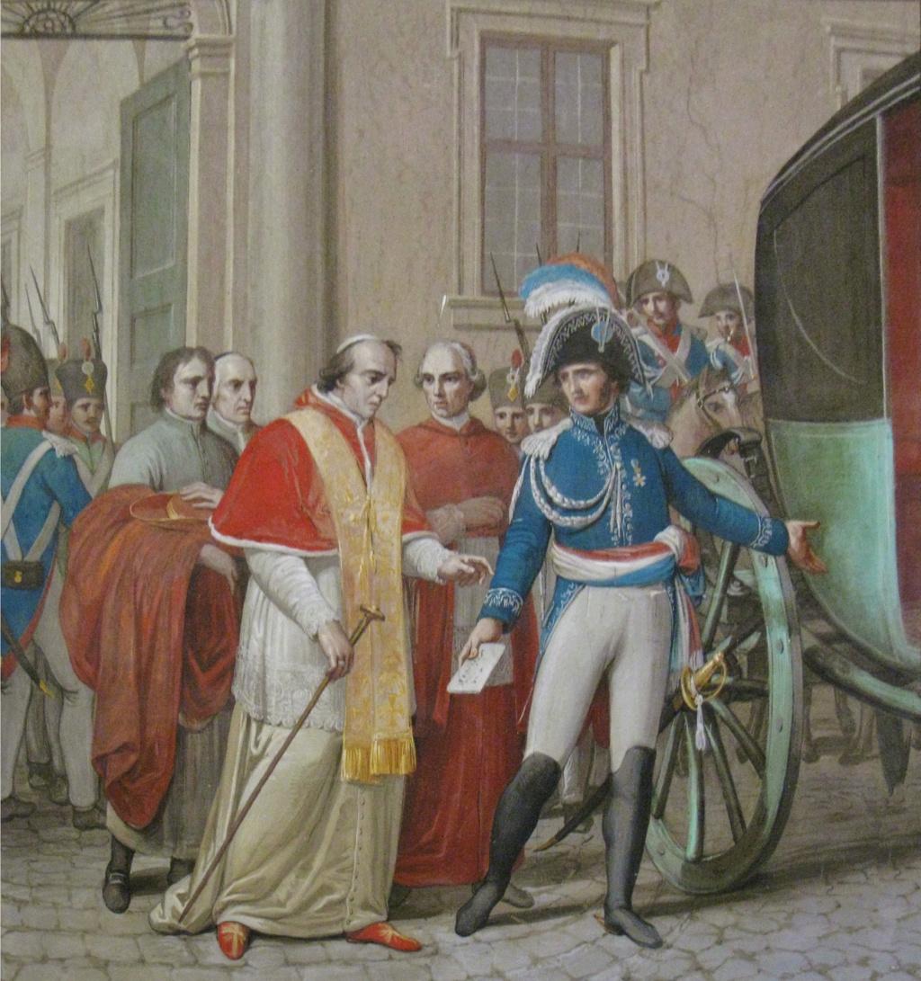 Le pape est exfiltré de Rome par le général Radet en 1809 Arrest10