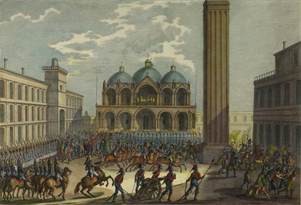 l' Armée de la République vénitienne en 1797 Entrzo11
