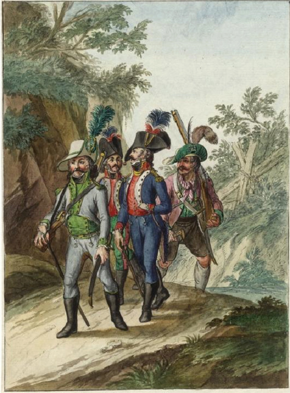 Taufers (Tyrol) 1799 Prison10