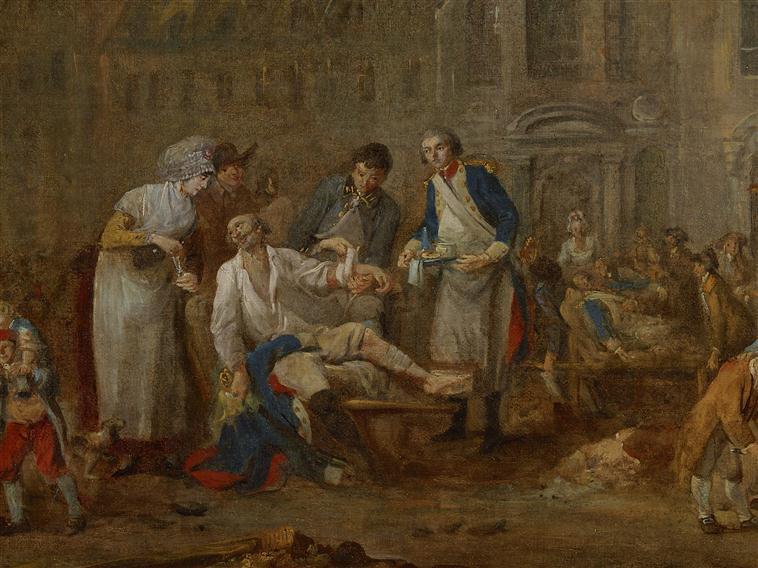 Medecin au siège de Lille 1792 Siege_10