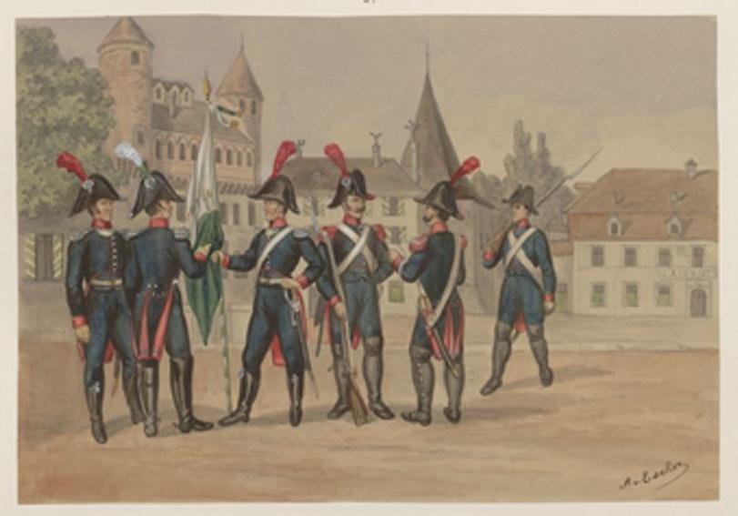République puis canton du Leman, futur canton de Vaud Vaud_i10