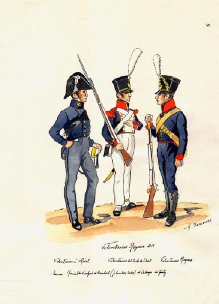 Les volontaires royaux de 1815 Volont10