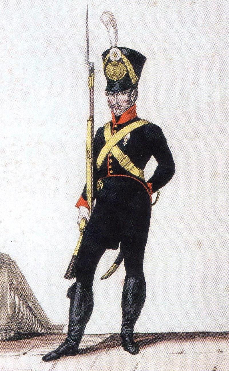 Les volontaires royaux de 1815 Volont11