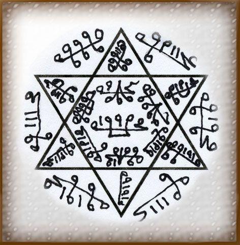 """талисман """" Защитный круг Мухаммада """" Logo2l10"""
