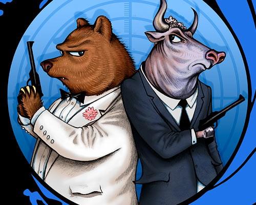 Stock Market Cartoons Bull-b10