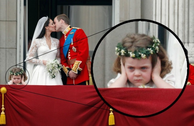 Royal wedding Oops..... Little10
