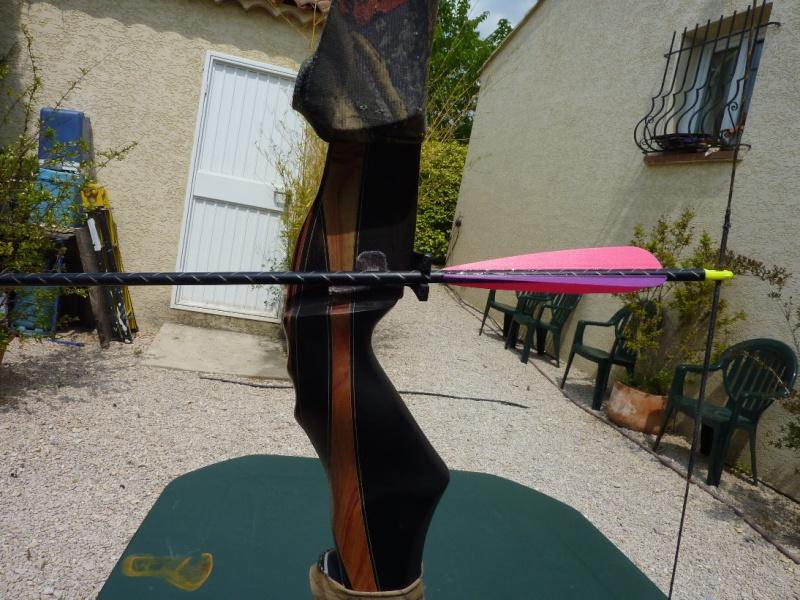Repose flèche sur arc trad. P1010419