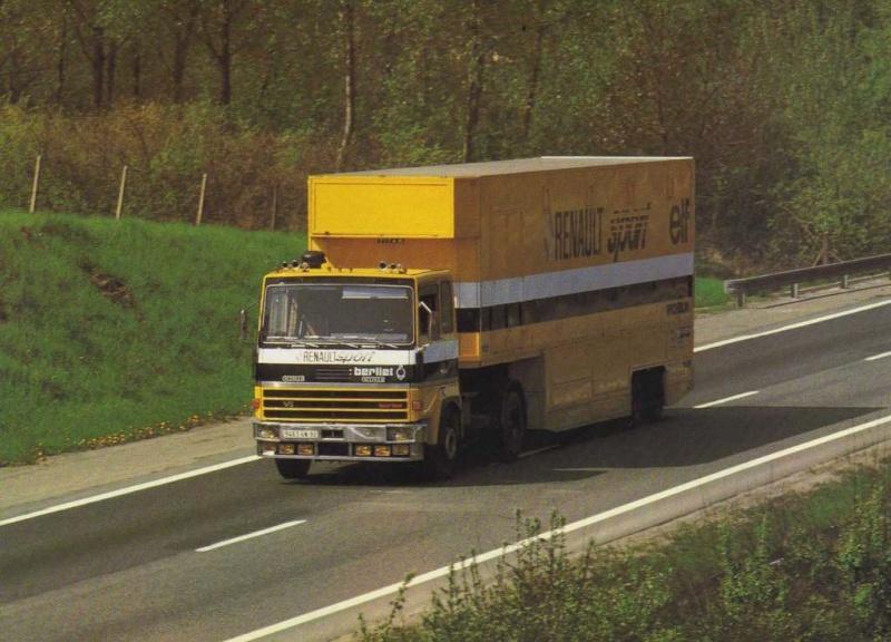Camion Berliet ,semi Renault Sport Img88310