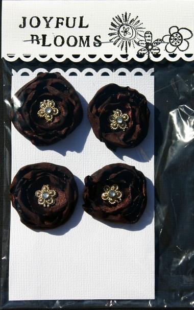 Satin Flowers Chocol10