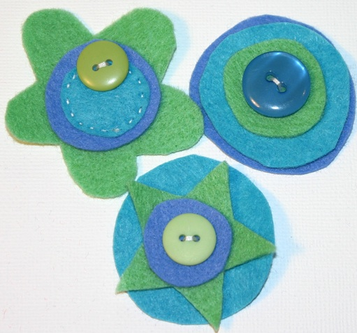 Felt Flowers- Aka- Joyful Blooms Pictur40
