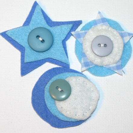 Felt Embellishments- Aka- Joyful Blooms Pictur42