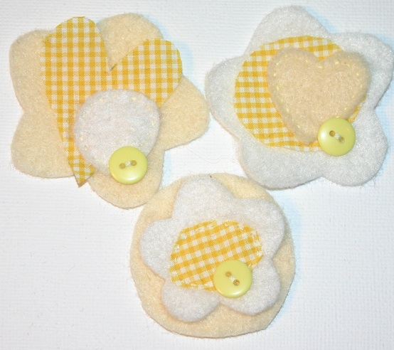 Felt Embellishments- Aka- Joyful Blooms Pictur44