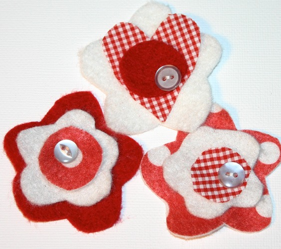 Felt Embellishments- Aka- Joyful Blooms Pictur45