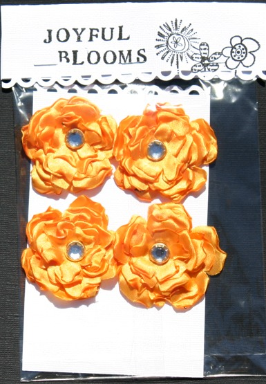 Satin Flowers Yellow10