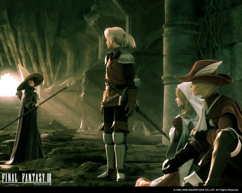 Final Fantasy III Wall_i10