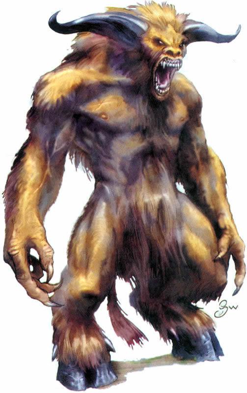 lista de animais mitológicos Minota10