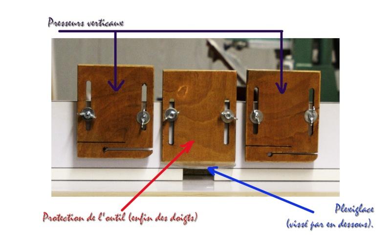 Table de défonceuse à modifier Presse11