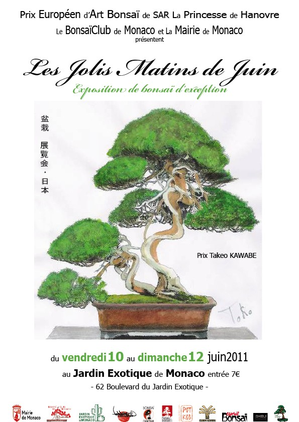 Les jolis matins de juin MONACO expo bonsai 11061010
