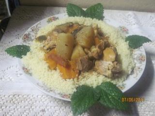 couscous Marocain à ma façon Aliane11