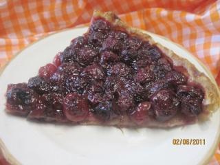 tarte aux cerises nature Mousti47