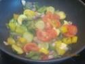 chorizo aux légumes de saison Choriz24