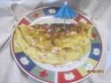 omelette aux de dés de  pommes sucrées Cuisse25