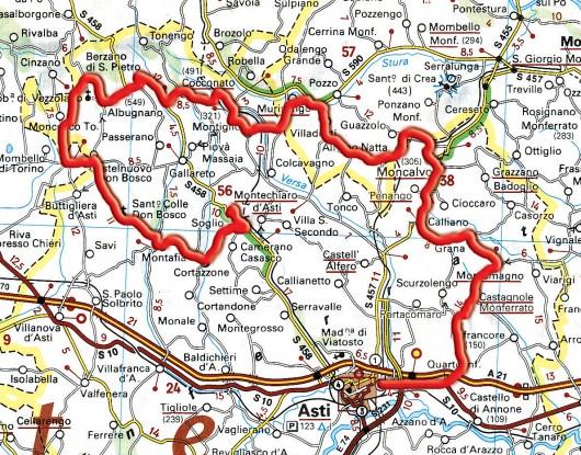Monferrato: da Asti al Castello di Moncucco, girando fra le stradine delle terre vinicole Monfer13