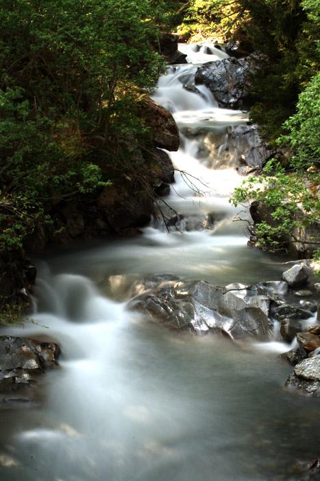 Photos de torrents, cascades etc... dans le massif. Cascad12