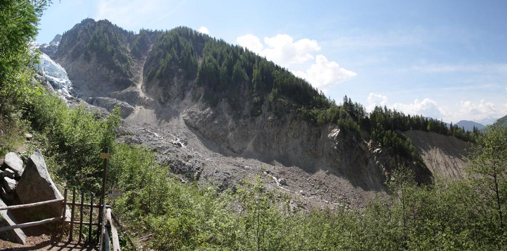 Le glacier des Bossons Panora11