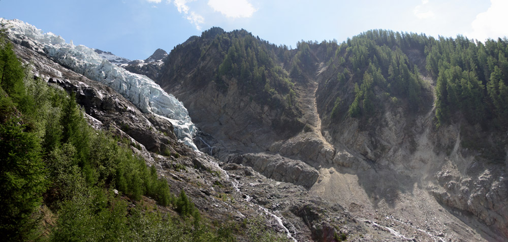 Le glacier des Bossons Panora12