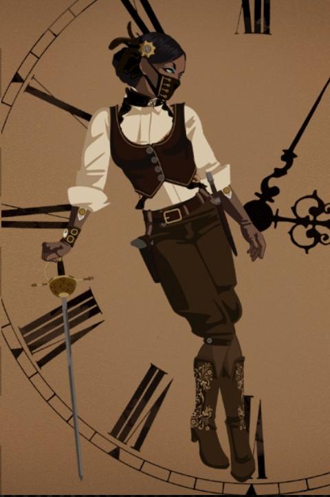 Juego online: Viste a tu muñeca de steampunk Pirata10