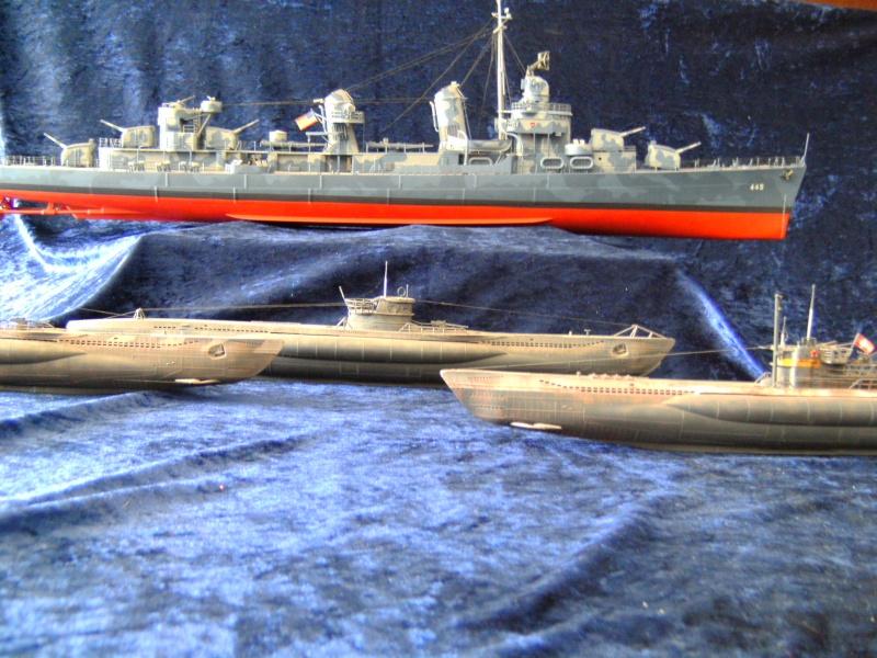 "Zerstörer DD - 445 USS ""Frank Fletcher"" Fletcher- Klasse in 1:144 Pict0050"