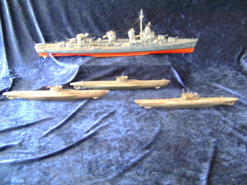 "Zerstörer DD - 445 USS ""Frank Fletcher"" Fletcher- Klasse in 1:144 Pict0052"