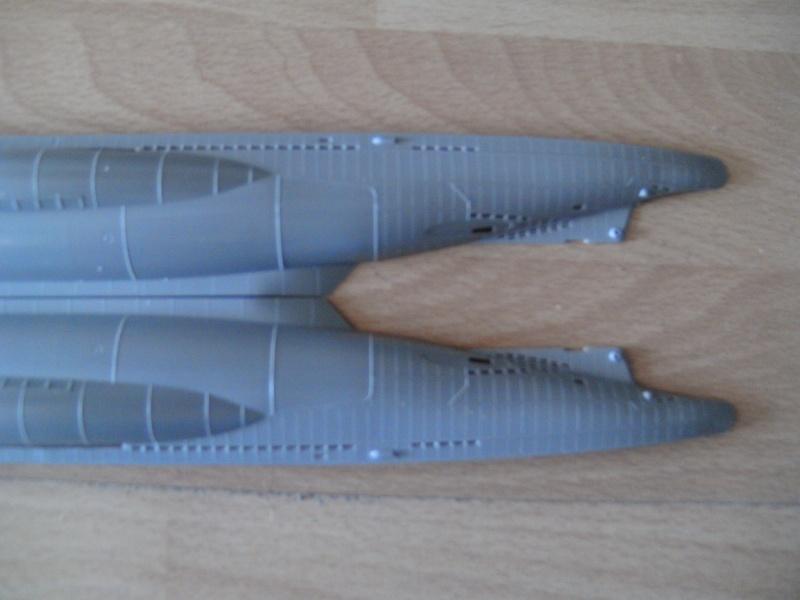 U-Boot Typ VII C 1:144 von Revell U-boot44