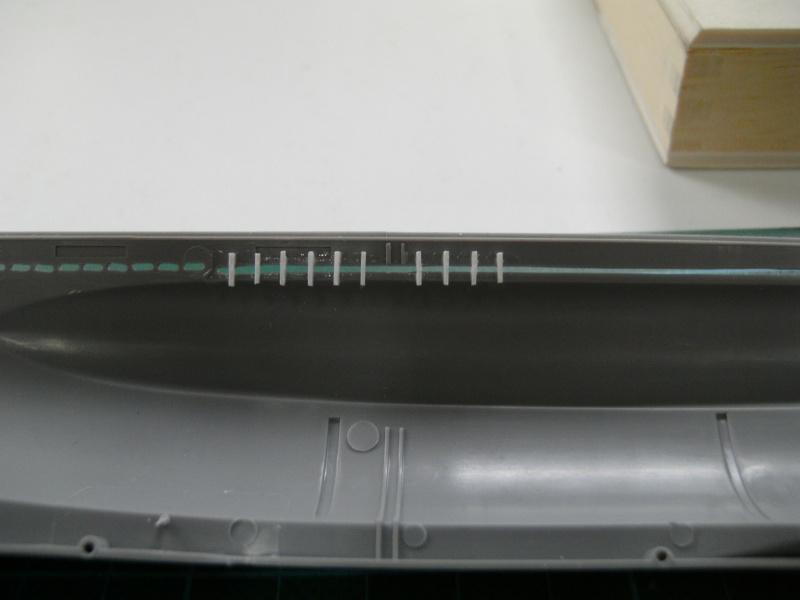 U-Boot Typ VII C 1:144 von Revell U-boot47
