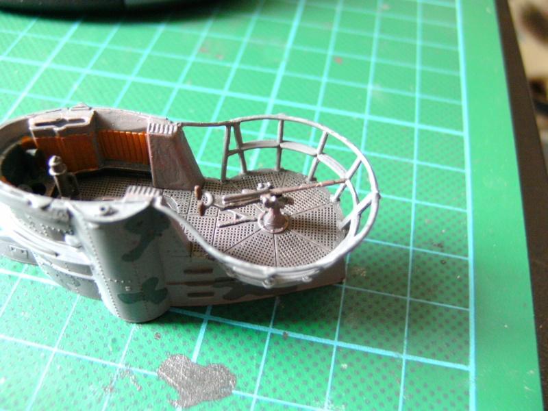 U-Boot Typ VII C 1:144 von Revell U-boot54