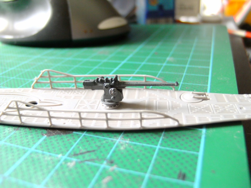U-Boot Typ VII C 1:144 von Revell U-boot56