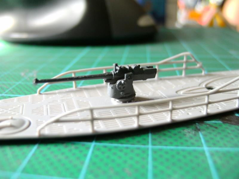 U-Boot Typ VII C 1:144 von Revell U-boot57