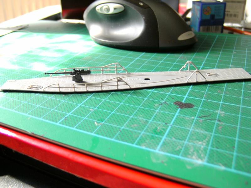U-Boot Typ VII C 1:144 von Revell U-boot58