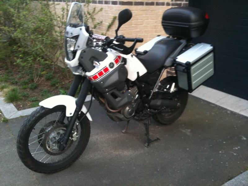 My XT660z 2009 Xtz110