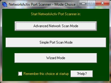 NetworkActiv Port Scanner 4.0 00110