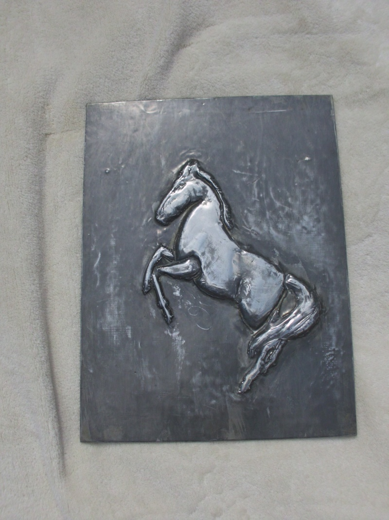 Metal work Picture - Horse 00310