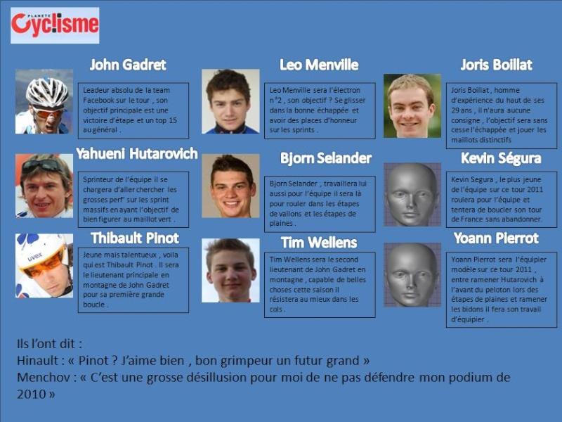 [Story] Tour de France 2011 - Team Facebook/Vaio Equipe10